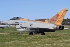 (scobie56) Tags: eurofighter typhoon fgr4 zk342 ed 6 squadron canopeners raf royal air force lossiemouth moray scotland