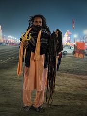 "Sadhus of Kumbh. (Prabhu B Doss) Tags: ""prabhu b doss"" fujifilm fujifeed fujilove gfx gfx50s kumbh ""kumbh mela"" prayagraj india portrait ""street portrait"""