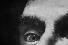 Here's looking at you kid.... (andredekok) Tags: selfportrait bw rexture monochrome eye closeup mirror portrait sony