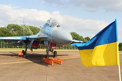 (scobie56) Tags: sukhoi su27 flanker ukrainian airforce ukriane riat royal international tattoo