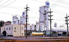 Union Carbide Plant (Gary IN ) (hardhatMAK) Tags: unioncarbide garyin scannedslide kodachrome64 2141987