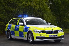 EU68 BFX (S11 AUN) Tags: essex police bmw 530d xdrive estate touring traffic car anpr rpu roads policing unit casualty reduction 999 emergency eu68bfx