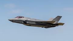 RNLAF F-35 take-off (Nicky Boogaard) Tags: lmd2019 luchtmachtdagen2019 volkel volkelairbase rnlaf royalnetherlandsairforce f35lightningii f35 jsf jointstrikefighter f008