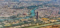 Sevilla (piligl) Tags: sevilla andalucia city paisaje ciudad panoramica