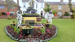 Apollo 11 Floral display  Flowerbeds near bus station, Huntingdon 14th June 2019 004 (D@viD_2.011) Tags: apollo11floraldisplayflowerbedsnearbusstation huntingdon14thjune2019