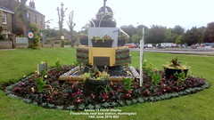 Apollo 11 Floral display  Flowerbeds near bus station, Huntingdon 14th June 2019 003 (D@viD_2.011) Tags: apollo11floraldisplayflowerbedsnearbusstation huntingdon14thjune2019