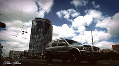 Riding in the city ... Едущий по городу (diluted-sasha88) Tags: building architecture car road street riding wheels clouds city sky life здание архитектура автомобиль дорога улица езда колёса облака город небо жизнь
