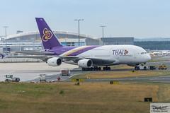 Thai Airways International Airbus A380-841 HS-TUF Kamalasai (720430) (Thomas Becker) Tags: thaiairwaysinternational บริษัทการบินไทยจำกัด 泰國航空 thai tha airbus a380841 a380800 a380 hstuf kamalasai กมลาไสย staralliance msn131 240413 fwwsu 291113 goldhofer ast1 towbarless tow tug pushback fraport flughafen airport aeroport aeropuerto aeroporto fra eddf frankfurt plane spotting aircraft airplane avion aeroplano aereo 飞机 vliegtuig aviao аэроплан samolot flugzeug germany deutschland hessen rheinmain nikon d7200 nikkor 80400g vrii dx raw gps aviationphoto cthomasbecker 170728 taxiing geotagged geo:lat=50039523 geo:lon=8596970 aerotagged aero:airline=tha aero:man=airbus aero:model=a380 aero:series=800 aero:tail=hstuf aero:airport=eddf