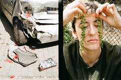 kristina ilyina. offside2019. kyiv (Yaroslav F.) Tags: car crash portrait conceptual day light 35mm halfframe half frame kyiv lifestyle yaroslav grob futymskyi ярослав футимський київ