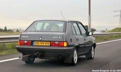 Volvo 340 GL 1989 (XBXG) Tags: xd99px volvo 340 gl 1989 volvo340 a9 nederland holland netherlands paysbas youngtimer old classic swedish car auto automobile voiture ancienne suédoise sverige sweden zweden vehicle outdoor