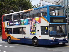 Stagecoach TransBus Trident (TransBus ALX400) 18159 PX54 AWW (Alex S. Transport Photography) Tags: bus outdoor road vehicle stagecoach stagecoachmidlandred stagecoachmidlands alx400 alexanderalx400 dennistrident trident transbustrident transbusalx400 route12a 18159 px54aww