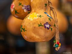 Decoration (✦ Erdinc Ulas Photography ✦) Tags: lenstagger turkey safranbolu unesco turkish traditional colourful canonfd50mmf14 vintage bokeh flower turkiye culture travel rope canon vintagelens decoration