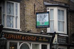 English Pub Sign - The Elephant & Castle, Kent (big_jeff_leo) Tags: pub pubsign publichouse sign painted painting streetart street england