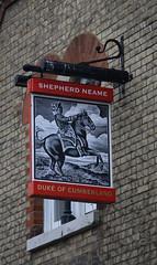 English Pub Sign - the Duke of Cumberland, Kent (big_jeff_leo) Tags: pub pubsign publichouse sign painted painting streetart street england