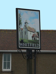 English Pub Sign - Whitfield, Kent (big_jeff_leo) Tags: pub pubsign publichouse sign painted painting streetart street england