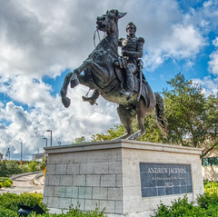 Andrew Jackson - the first Governor of Florida (farolsfotos) Tags: andrewjackson jacksonville florida statue president governor