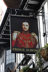 English Pub Sign - The Prince Albert, Broadstairs, Kent (big_jeff_leo) Tags: pub pubsign publichouse sign painted painting streetart street england
