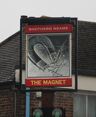 English Pub Sign - The Magnet, Kent (big_jeff_leo) Tags: pub pubsign publichouse sign painted painting streetart street england