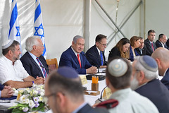 """רה""""מ נתניהו בישיבת ממשלה חגיגית ברמת הגולן (Prime Minister of Israel) Tags: ×'×¨×•×›×™× israel"""
