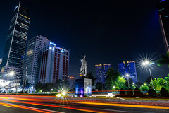 Patung Jenderal Soedirman, Jakarta (yossinapitupulu) Tags: longexposure longexposurephotography longexposureoftheday longexposures longexposureshots longexposurephoto slowshutter city cityatnight
