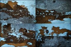 009408 (onesecbeforethedub) Tags: vilem flusser technical images onesecbeforetheend onesecbeforethedub onesecaftertheend photoshop multiple exposure collage malta edinburgh contemporaryart streamofconsciousness details rust decay industrial anthropomorphism anthropocene polyptych polyptychs poliptych poliptychs quadriptych quadriptychs tetraptych tetraptychs