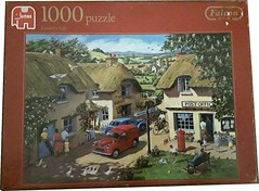 "FALCON F ? 1000 ART ? COUNTRY LIFE JUMBO DELUXE (Andrew Reynolds transport view) Tags: jigsaw ""jigsaw puzzle"" picture pieces large difficult falcon hobby leisure pasttime f 1000 art country life jumbo{ar} deluxe"