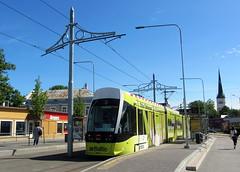 Estonia - Tallinn tram (onewayticket) Tags: urban transport tram caf tlt urbos tallinn estonia axl alloverlivery cafurbosaxl