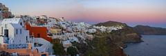 Oia dusk (Rob McC) Tags: oia landscape coast sea buildings architecture cliffs santorini greece twighlight goldenhour dusk