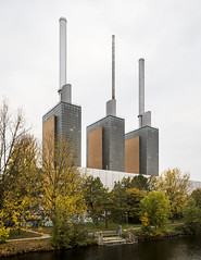 Heizkraftwerk Linden. (Stefano Perego Photography) Tags: stepegphotography stefano perego building power heating plant chimneys industry industrial architecture design