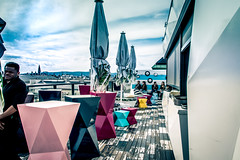 Lamée Rooftop (Maria Eklind) Tags: austria wien laméerooftop rooftop vienna europe rooftopbar bar gemeindebezirkinnerestadt österrike