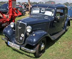 Kurier (Schwanzus_Longus) Tags: oyten german germany old classic vintage car vehicle antique historic sedan saloon hanomag kurier