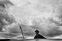 Between Enkhuizen, Hoorn, Medemblik, Monnickendam, Marken, Lemmer on the Ijsselmeer and Markermeer (rgiw) Tags: blackwhite bw schwarzweiss sw colour farbe monochrome beach sky himmel wasser water wolken clouds see agfavista200 thenetherlands ijsselmeer yashicat5 blackandwhite