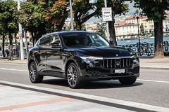 Switzerland (Ticino) - Maserati Levante Diesel (PrincepsLS) Tags: switzerland swiss license plate lugano spotting ti ticino maserati levante diesel
