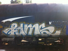 fams (streetzisill) Tags: fams graffiti freight fr8 train 2019 chrome silver