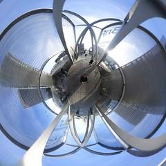 Paris, Grand Bibiothèque 360, 17 (Patrick.Raymond (6M views)) Tags: paris bnf 75 grande bibliothèque fisheye 360 panorama circulaire little planet nikon keymission