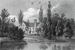 The Priory, Ware, Hertfordshire UK, c.1806 (Monopthalmos) Tags: thepriory ware hertfordshireuk engraving jstorer dissolutionofthemonasteries franciscans