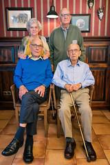 Broers en Zus - Opa van Zurk 90 jaar (Merlijn Hoek) Tags: johannashof castricum opavanzurk familie family portrait