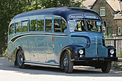 1950 Leyland Comet Coach, MHY 765 (HighPeak92) Tags: preservedbuses peakparkpreservedbusgathering peakrail peakdistrict derbyshire canonpowershotsx700hs