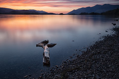 Logging In (tolle13) Tags: derwentwater thelakes cumbria sunset