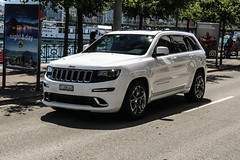 Switzerland (Ticino) - Jeep Grand Cherokee SRT (PrincepsLS) Tags: switzerland swiss license plate lugano spotting ti ticino jeep grand cherokee srt