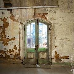 Broken Doors (D. Travis North) Tags: doors esp easternstatepenitentiary philadelphia philly prison ruins forgotten