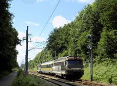 BB 67251 + Voiture Lucie + BB 67250 (ChristopherSNCF56) Tags: bb67200 bb67250 bb67251 voiture essais infra sncf lucie train locomotive mesure