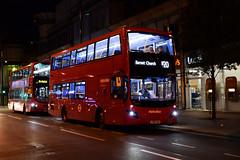 Metroline London VMH2585 on Route N20, Barnet Church (e400olympus) Tags: metroline london vmh2585 lf19fxk volvo b5lh mcv evoseti