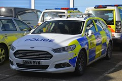 GN65 BVW (S11 AUN) Tags: essex police ford mondeo estate dog section policedogs dogsupportunit dsu response van 999 emergency vehicle gn65bvw