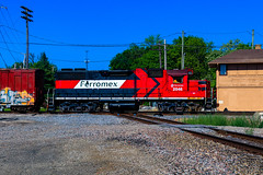 El Chepe (BravoDelta1999) Tags: ferromex fxe railroad ferrocarrilchihuahuaalpacifico chihuahuapacifico chp railway canadianpacific cp rail cpr milwaukeeroad milw metra milwaukeedistrict mdn canadiannational cn elginjolietandeastern eje leithtonsubdivision cmsubdivision northline rondout tower interlocking illinois emd gp382 2046 weed sprayer train