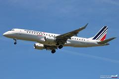 Air France HOP! Embraer ERJ190 F-HBLL (Arthur CHI YEN) Tags: air france hop embraer erj190 fhbll airfrance