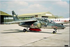 "Alpha Jet, 8-MR, E166, 8ème EC ""Eracles"" (OlivierBo35) Tags: spotting spotter armeedelair alphajet cazaux lfbnc"