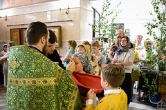 Богослужения праздника Пятидесятницы