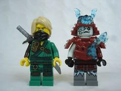 70671 - figs (fdsm0376) Tags: lego set review 70671 ninjago lloyd journey blizzard warrior wolf kitsune