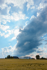 Cloud mountain (frankdorgathen) Tags: sonyrx100m3 sonyrx100iii landscape landschaft ruhrpott ruhrgebiet fischlaken essen sunny sonnig frühling spring wolken clouds himmel sky